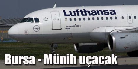Lufthansa'dan Bursa - Münih