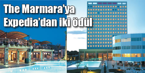 The Marmara'ya iki ödül birden