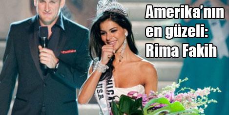 Rima Fakih, Miss USA seçildi