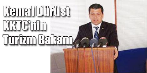 Kemal Dürüst KKTC Turizm Bakanı