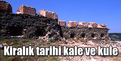 Tarihi kale ve kulesi kiralık