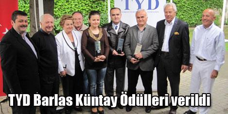 TYD Barlas Küntay ödülleri