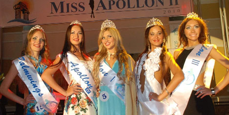 Miss Apollon Güzeli, Rus Natalia