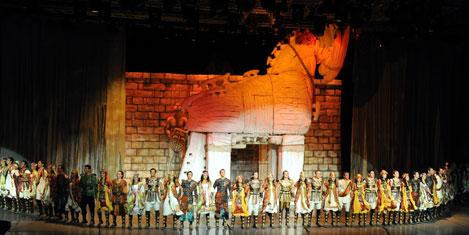 Troya efsanesi, Ankara'da