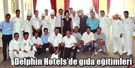 Memnuniyeti için delphin hotels de gıda güvenliği eğitimleri