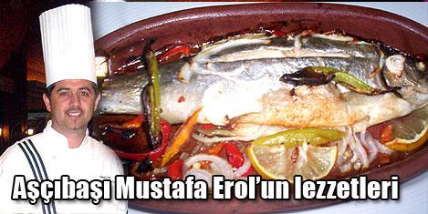 Aşçıbaşı Mustafa Erol'dan lezzet