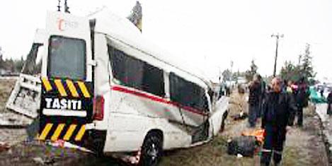 Tatil başladı kazalar hızını artırdı