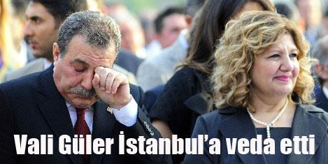 Vali Güler İstanbul'a veda etti