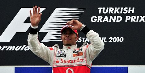 Formula 1 İstanbul Hamilton'un