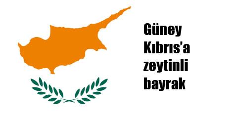 Kıbrıs bayrağındaki dallara zeytin