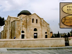 Peygamber doğunca haçı uçan Nizip Fevkani Kilisesi