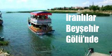 İranlılar  Beyşehir Gölü'nde