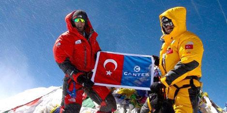 Mahruki, Everest'ten döndü