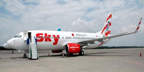Antalya Havalimanı'nda yangın