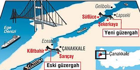 Çanakkale Köprüsü'ne güzergah