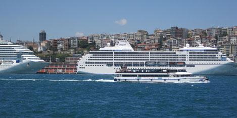 İstanbul'a gelen turist %5 azaldı
