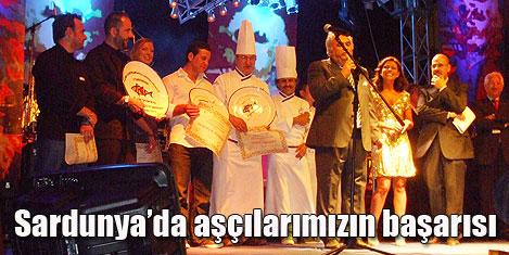 Türk aşçıların Sardunya başarısı