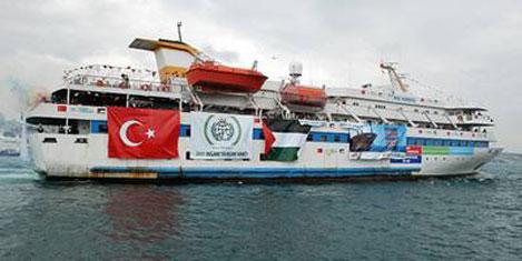 BM:Gemiye saldırı İsrail gaddarlığı