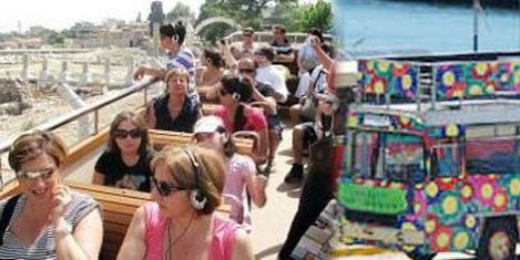 Kentiçi tur otobüsleri yola çıktı