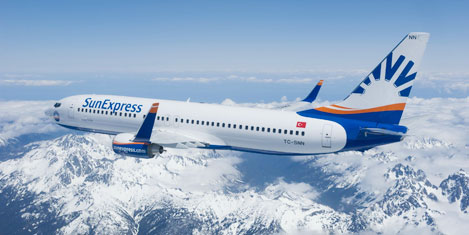 SunExpress'in Viyana uçuşu