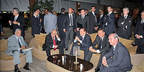 Rixos Al Nasr Tripoli'de başkanlar