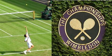 Wimbledon'da tenis şöleni
