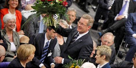 Christian Wulff Cumhurbaşkanı