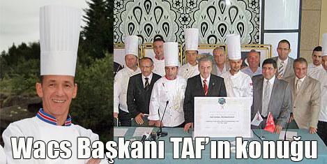 WACS başkanı İstanbul'da