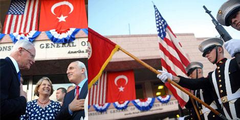 ABD'nin bağımsızlık günü kutlandı