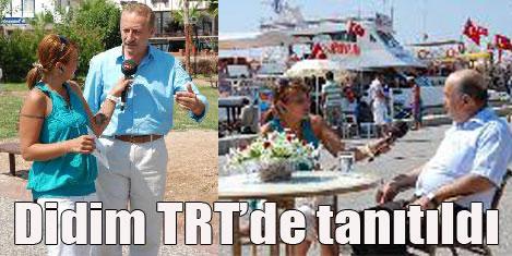 TRT'de Didim'i tanıtıldı