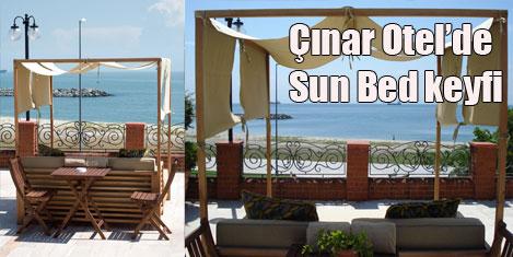 Çınar Hotel'de Sun Bed ayrıcalığı