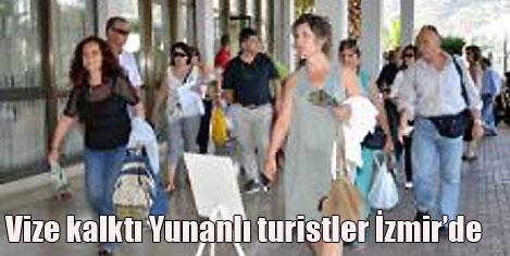 Yunan turistlerin buluşma yeri