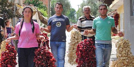 20 bin aile sebze kurutuyor