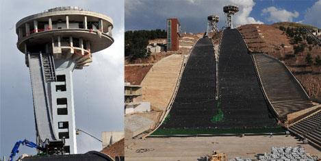 Türkiyenin ilk atlama kuleleri