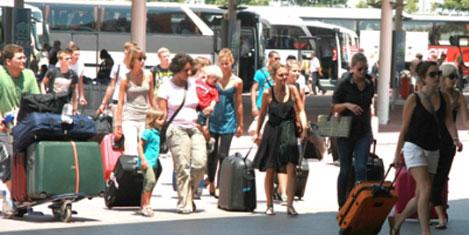 Antalya'ya %10 fazla turist geldi