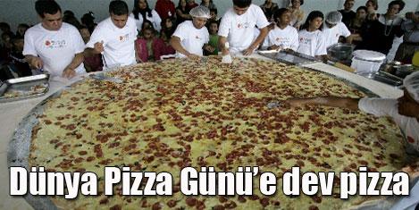 """""""Dünya Pizza Günü"""" kutlandı"""