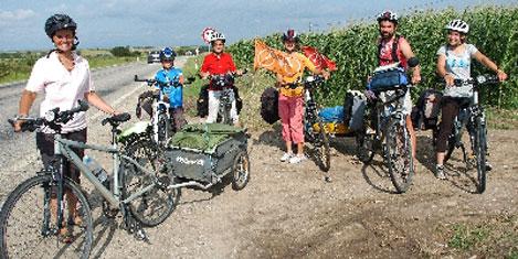 Fransa'dan bisikletle Türkiye