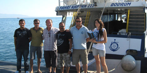 Feribotla Kalymnos'a seferleri