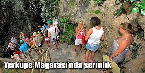 Turistlere, 'doğal buzdolabı