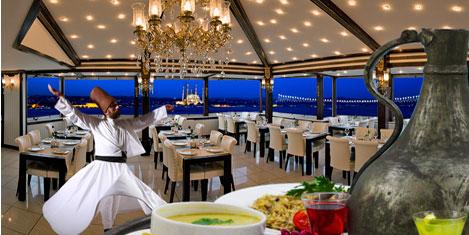 İpek Palas Otel'de üç yeni yıl