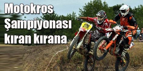 Motokros Şampiyonası heyecanı