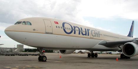 Onur Air'in 30. uçağı Airbus 330