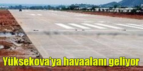 Havaalanı Hakkari'nin kapısı