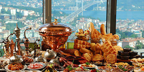 Point Hotel Barbaros'ta iftar farkı