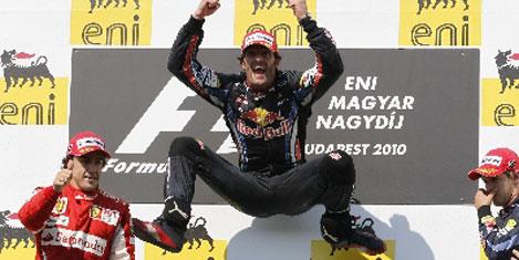 F1 Macaristan Webber'in
