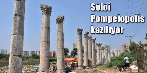 Soloi Pompeiopolis'te dini yapı