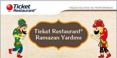 Ticket Restaurant ile iftar