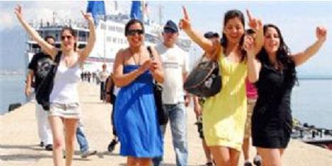 İsrailli turiste boykot vız geldi