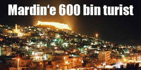Mardin'e 600 bin turist