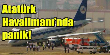 Atatürk Havalimanı'nda panik